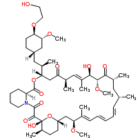 Chemical Structure, RAD001