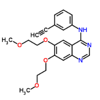 Chemical Structure, Erlotinib