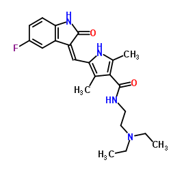 Sunitinib - Chemical Structure