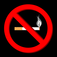 no smoking, Cigarettes, warning sign
